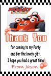 Personalised Roary the Racing Car Thank You Cards